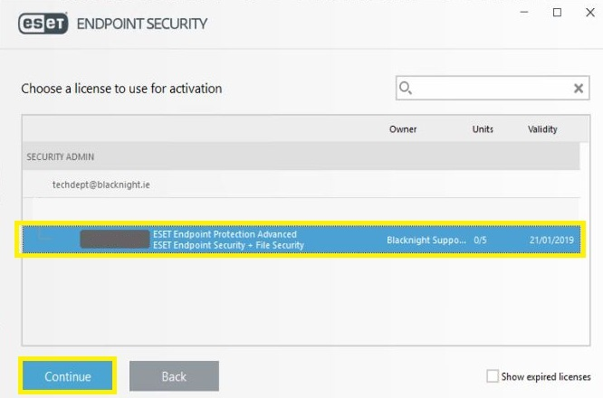 ESET Security - How to purchase and install – Blacknight