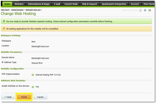 Getting Started with Blacknight Web Hosting, Email & FTP