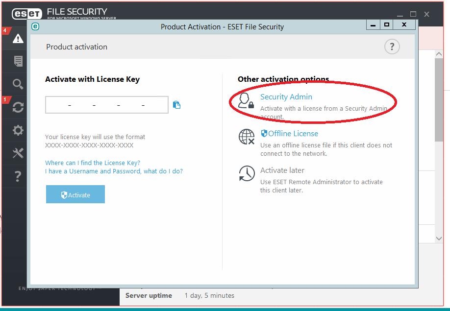 Setting up Eset Endpoint Protection – Blacknight - Customer